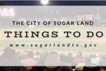 Things to do / by City of Sugar Land