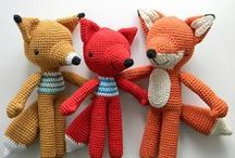 Crochet; Animals; Foxes / by Tina Carlsson