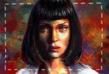 Pulp Fiction Fan Art / Pulp Fiction Fan Art