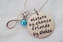 Jewelry for Chelsea / (Family and Friends) Find something hand stamped that you love? Pin it here and let me make it for you! Or just to give me ideas. :)