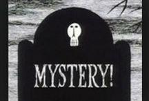 Edward Gorey art - Mysteries