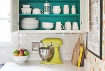 Future Kitchen / All inspired by my grandmothers vintage dishes  / by Brittany Cozzens