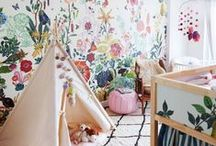 Unique Kid's Spaces / All about the kiddos. Spaces that inspire creativity, fun & imagination!