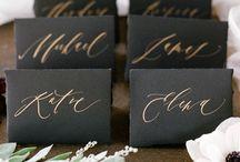 Escort Cards / Creative escort card ideas for your wedding