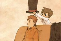 Professor Layton / ...and the unnecessarily long tagline