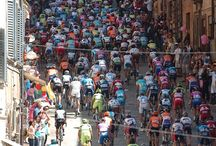 Giro d'Italia / Italy's great cycle race. Italy is a great cycling nation and for these three weeks, the country turns pink and stops work to watch their favourite riders.  If it's coming to a place near you - make sure to see it!