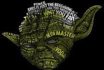 May the force be with you / Je suis Jedi, je me devais de créer ce tableau