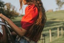 Hairdos for long hair / ideas for long hair styles, many tutorials for updos and step by step instructions for cute hairdos