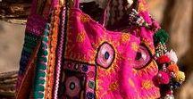 torba plecak bohostyle / inspirujące okruszki do realizacji z moich marzeń