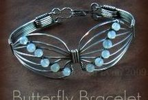 wirecrafting and other diy jewelry / input for diy jewellery, wirewrapping etc