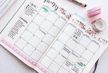 Bullet Journal Ideas / Bullet Journal Ideas like weekly spreads, lists etc.