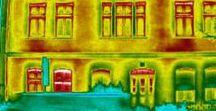 Thermografie / Mit Hilfe von Wärmebildern können Hausbesitzer einen Blick auf die Schwachstellen ihres Hauses werfen. Tipps rund um die Thermografie.