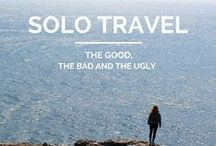 Solo Female Travel / Everything you want to know aboutSolo Female travel ! Tips, tricks, blog posts and photography