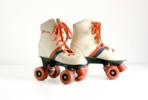 all skate now reverse / Everything I love and remember about the golden days of roller skating. I'm bringin' it back, y'all! / by Meaghan O'Malley