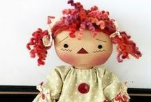 primitive dolls / by Melody Mulvaney-Kealy