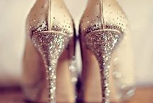Give a girl the right shoes and she can conquer the world. / by Allie McNay