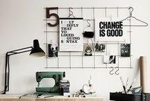 WORKSPACE / Ideas for workspaces.