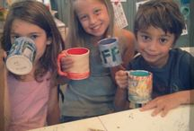 Kids Summer Camps at McCheek's Academy / Ceramic projects made at McCheek's Academy in Houston Heights, Texas http://mccheeksacademy.com