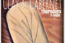 Clay and Cabernet / Clay and Cabernet every Thursday night at McCheek's Academy. http://mccheeksacademy.com