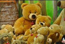 Trudi Teddy Bear / The Heart of Trudi. Symbol of Love and Tenderness.