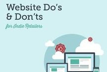 Why Websites? / Your resource for all things websites. Why does your small business need a website? It acts as the 24/7 face of your store, helps to build your brand and so much more.  / by SnapRetail