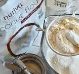 Coconut Flour Uses / Using Coconut Flour can be tricky, but it's also a wonderful addition to or replacement for regular flours. Learn all about how to use Coconut Flour and what to make with it. http://kitchen.nutiva.com/?s=coconut+flour