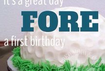 Golf Party Theme / First and fourth birthday ideas.  / by Monica Joy