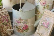 Shabby chic / by all the beautiful things in life ...