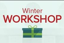 Winter Workshop / SnapRetail's elves have been tinkering away to bring you this year's Winter Workshop!  Visit our site to register now and save your spot for three full weeks of FREE holiday marketing content, stats, exclusive webinars from retail experts and printables to display in-store. / by SnapRetail