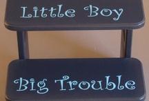 Little boy stuff / by Allison B