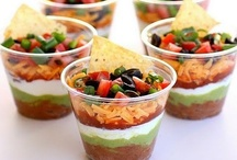 Appetizers & Dips / appetizers, dips, hour de vours, jellies, & sauces / by Allison B