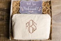 :: Weddings :: / Bridesmaids bags and custom gifts for you and your girls!