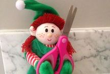 Elf Magic Elves are Crafty / Fun craft ideas for kids and parents.