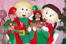 "Elf Magic Jingle & Jangle / Children and parents now have a direct link to Santa. Santa's has placed two helper Elves, ""Jingle"" and ""Jangle"", at each North Pole Supply Post. They are his most dedicated and trusted Elves! Their job is to take requests up to the North Pole every night, so more Elves should arrive soon."