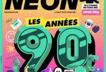 NEON en couvertures / Tous les numéros de NEON