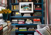 Bookshelves // Library