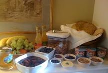 Two Rose Cottages breakfast / Fresh local ingredients, a cosy room and morning sunshine
