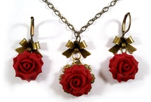 Red Rose Jewelry / I created this board because red rose earrings, necklaces and other accessories are very popular.  So this board is for those who are in love with red roses! / by Stranded Treasures