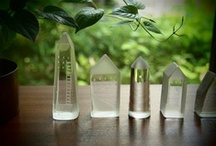 tiny glass houses / by Ina Lamber
