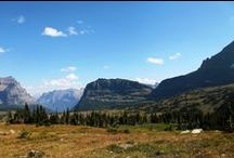 Big Sky Country!!! / Photos of my visit to Montana. Photos from Glacier and Helena area including food while camping in our yurt! all photos @jefenster Red Tail Productions!!
