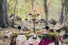 wildflower wedding / Earthy, boho, rustic, outside, two brides.  / by Marisa Reo