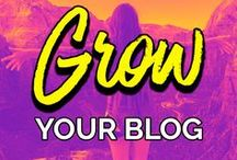 Grow Your Blog / Join us on Tailwind! https://goo.gl/deEvGZ  Learn how to take your blog to the next level with tips on blogging, writing, marketing, driving traffic to your site with social media, building your email list, and more.  Want to contribute? Follow me and send me a message here on Pinterest or email me at hello@laurenbennight.com. Please pin at least 2 pins for every 1 you share, and share content from other sites as well. No limits otherwise!