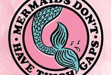 |mermaids / Deniz kızısı olmayı severim