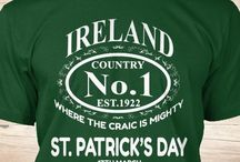 St Patrick's day shirts / Choose 1 and make your St Patrick's Day become awesome