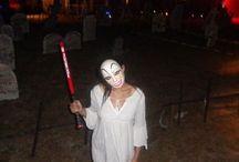 Halloween 2k18  / Purge costume