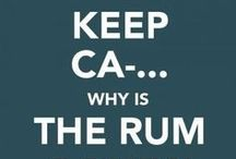 Why is the rum always gone???