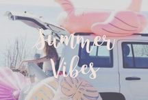 ↣ summer inspiration / some summer inspiration, quotes, food, DIY's, home & more.
