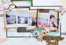 Scrapbook Layouts / by Stephanie Ching