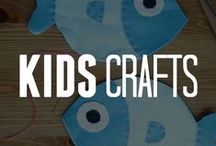 Crafts for Kids / These craft ideas are great for kids! Let them use their imagination & keep them entertained. These crafts for children are sure to be a hit for family craft time! / by ConsumerCrafts.com