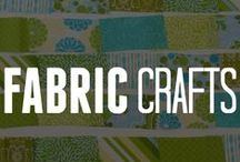 Fabric Crafting / Do more than just sew. See what you can create using fabric with our crafting ideas! There's a fabric craft for everyone, how will you DIY fabric into something fabulous? / by ConsumerCrafts.com